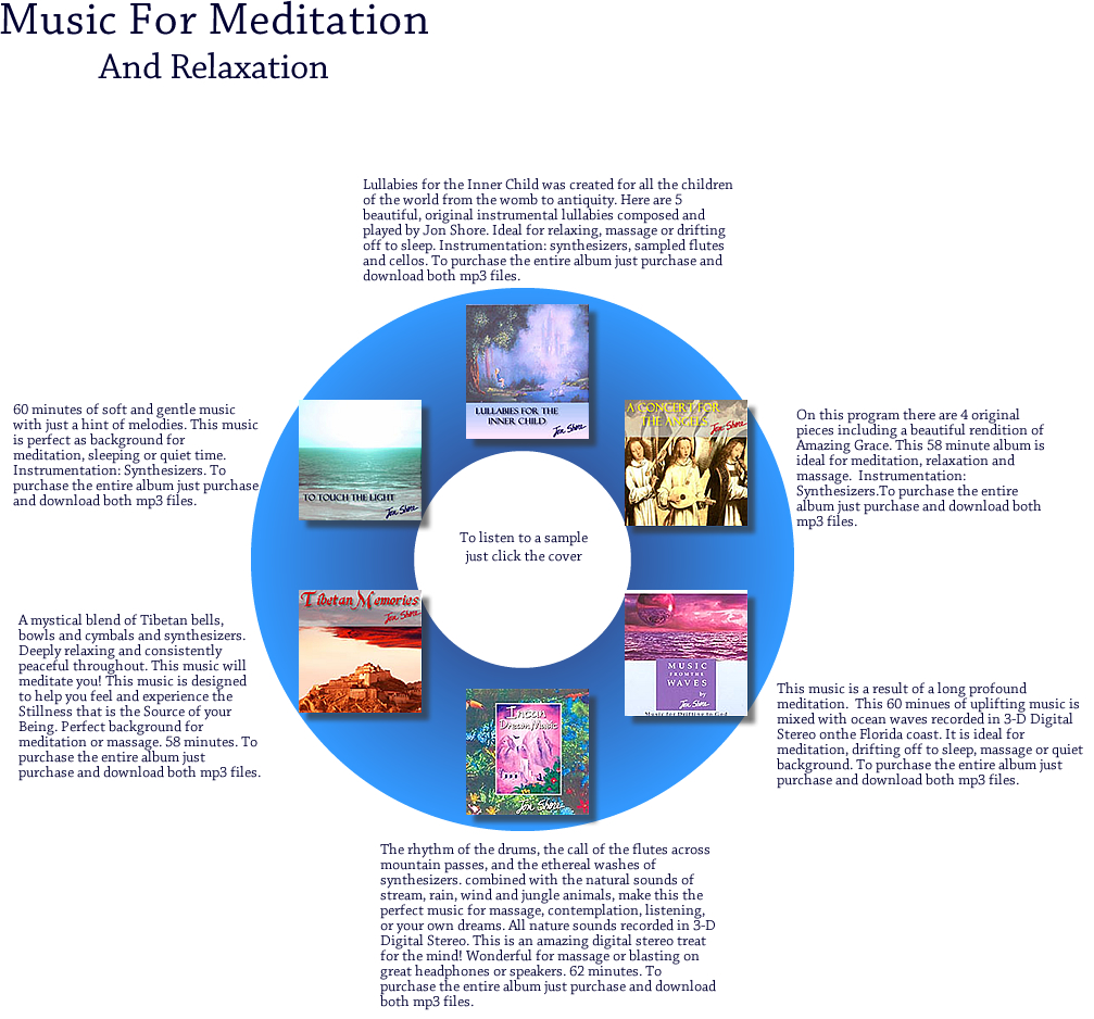 Music for Meditation by Jon Shore